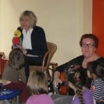 Frau Ensminger-Busse hat uns den singenden Felix mitgebracht.