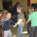 tanzen, mit Spaß dabei