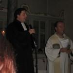 Pfarrer Kiworr und Pfarrer Todisco